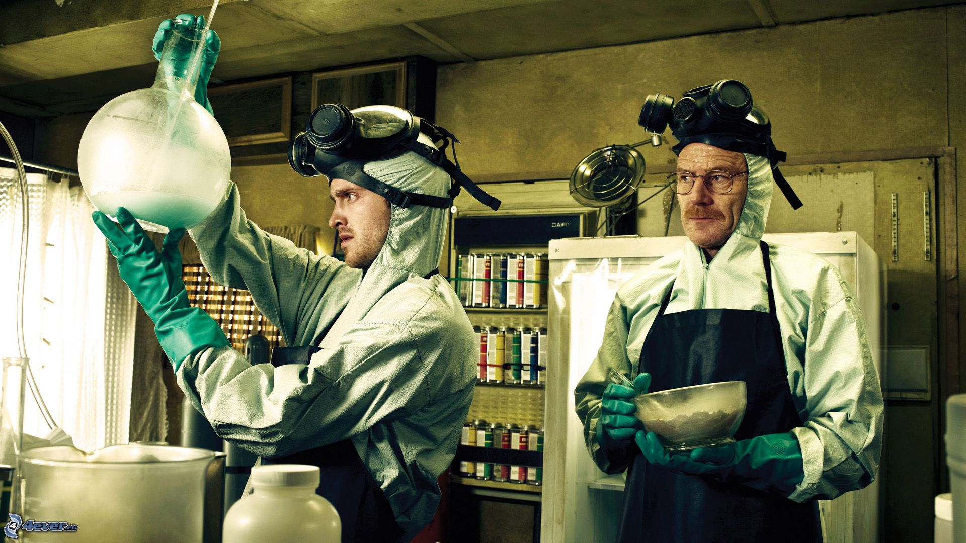 Metanfetamina y la serie de televisión 'Breaking Bad'